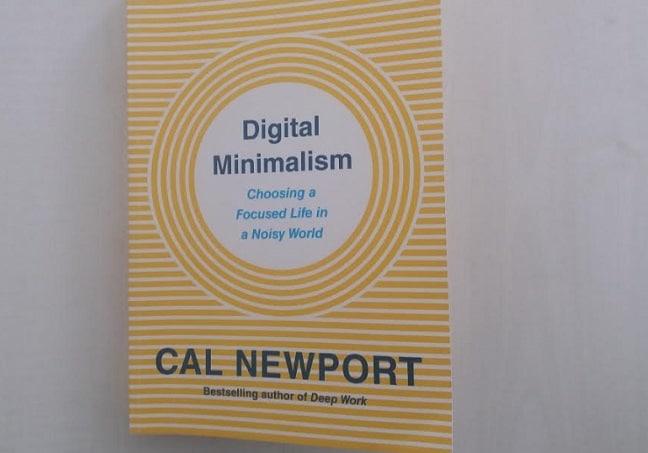 avis sur le livre digital minimalism
