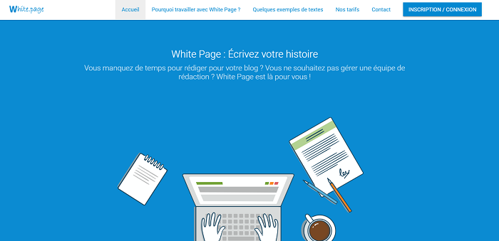 avis sur le site white page