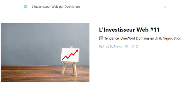 newsletter l'investisseur web